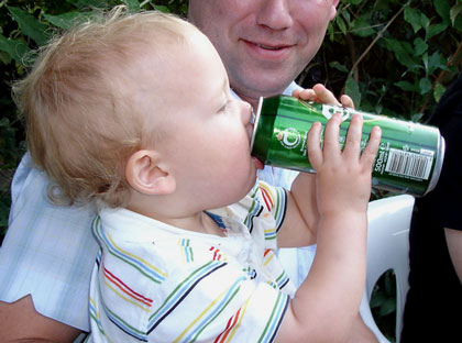 drunk baby is funny