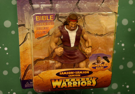 bible action figure