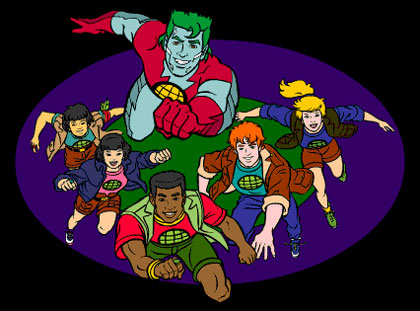 Captain Planet Is A Shithead