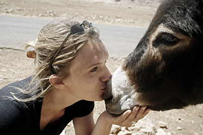 oh yeah lick that donkey like you mean it