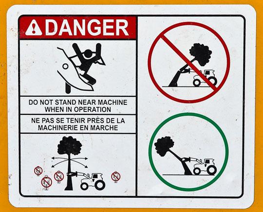 Warning Chopper