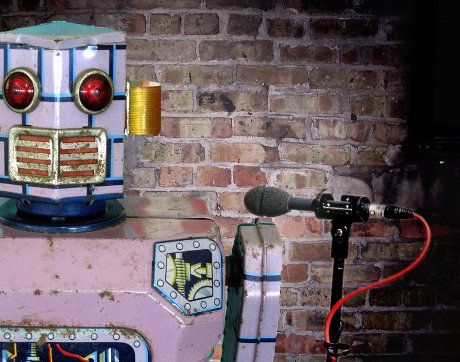 Robot Standup Comedy