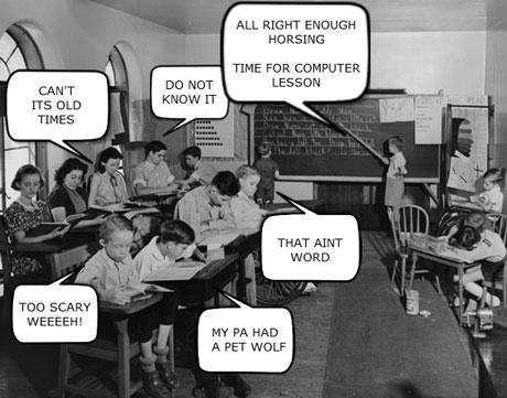 50s Computer Class
